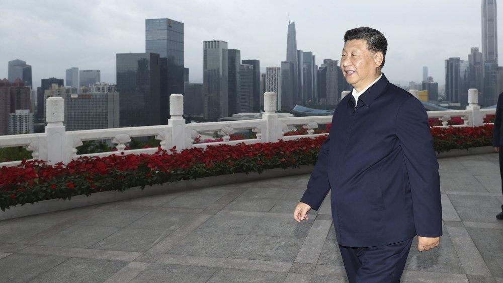 Xi encense Shenzhen, face à Hong Kong