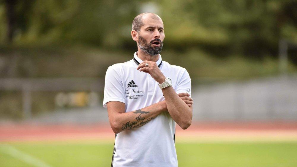 Ugo  Raczynski jette l'éponge après cinq saisons et huit matches à la tête du Martigny-Sports.
