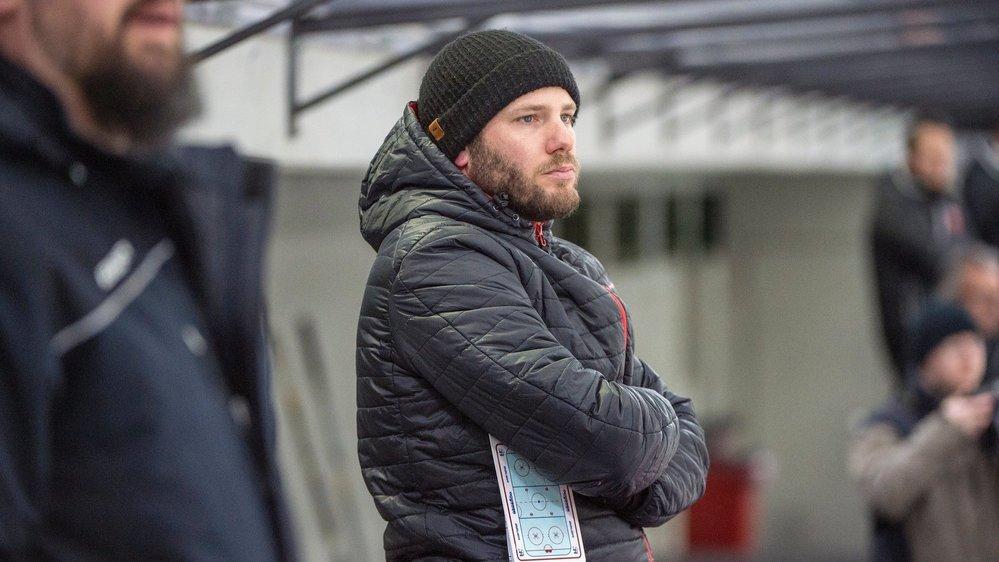 Les joueurs d'Yves Constantin ont trouvé une fois l'ouverture contre le HC Bienne.