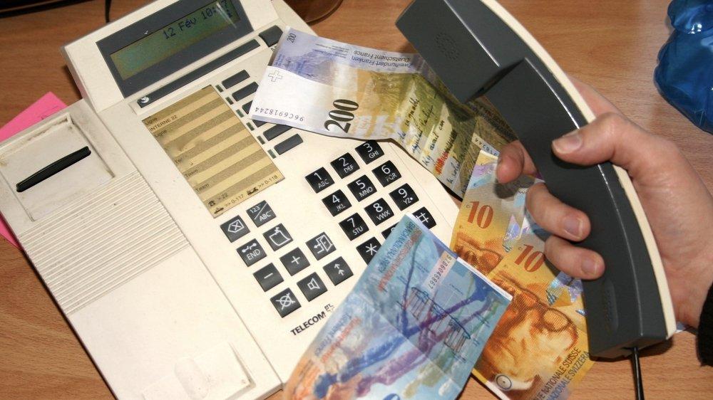 La victime a reçu une facture de près de 400 francs pour trois appels. Mais pas le frigo qu'on lui avait promis.