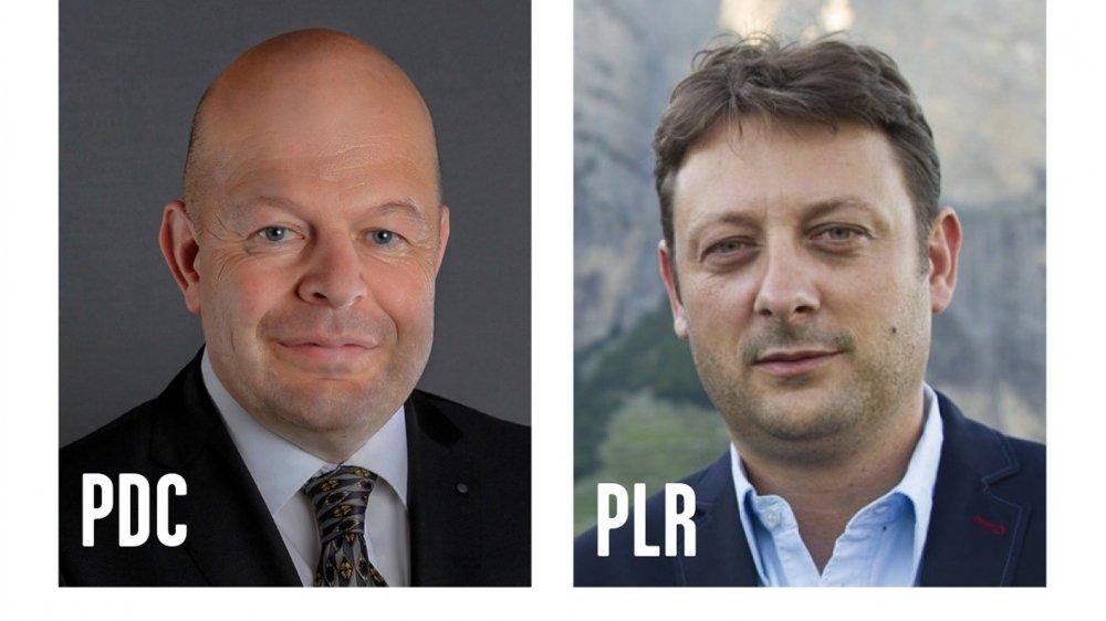 Dimanche, Claude Crittin et Christophe Bessero ont obtenu respectivement 839 et 658 voix.