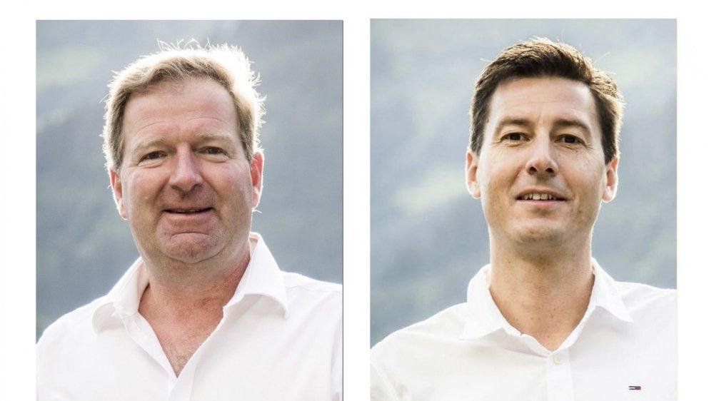 Jacques Berra (386 voix) et Jean-Philippe Borgeaud (327 voix) ont été élus ensemble dimanche mais seront opposés au second tour.