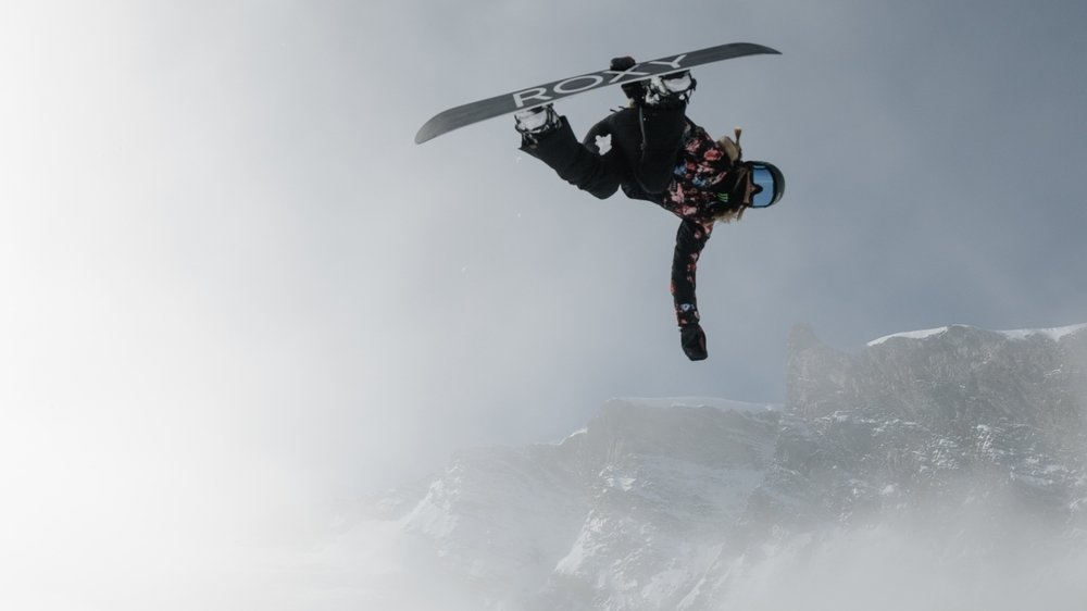 La snowboardeuse américaine Chloe Kim, sacrée plus jeune championne olympique de l'histoire en 2018, était de passage dans le Haut-Valais début octobre.