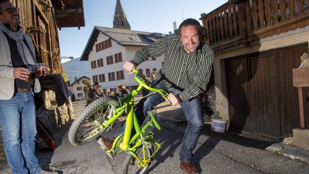Vincent Degen sera le premier Vert de l'histoire à siéger dans l'exécutif saviésan.