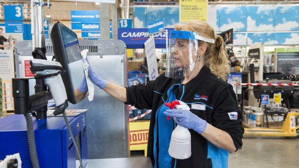 Les entreprises valaisannes attendent avec anxiété l'arrivée d'une deuxième vague du coronavirus.