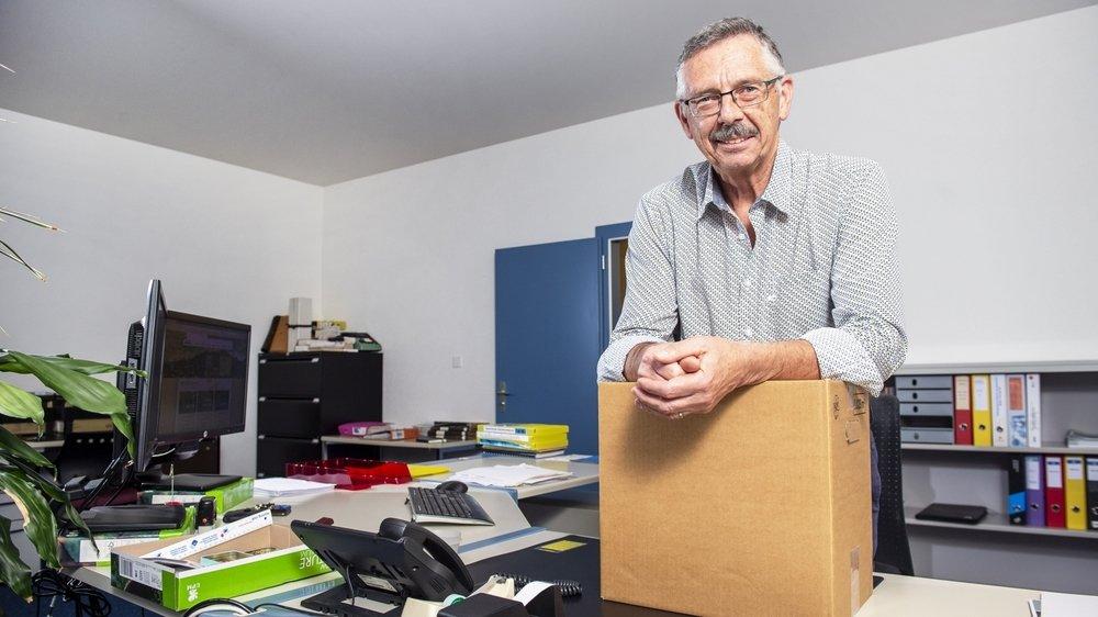 Après quarante-trois ans au poste de secrétaire communal de Chalais, François Zuber rendra son tablier à la fin du mois d'octobre.