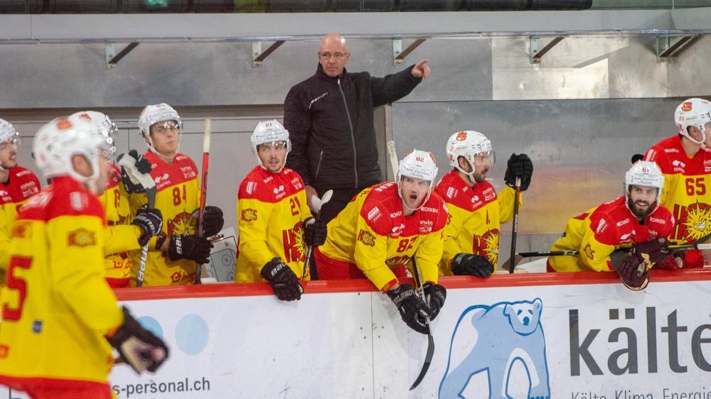 Dany Gelinas a dû se priver de plusieurs joueurs lors du déplacement à Olten.