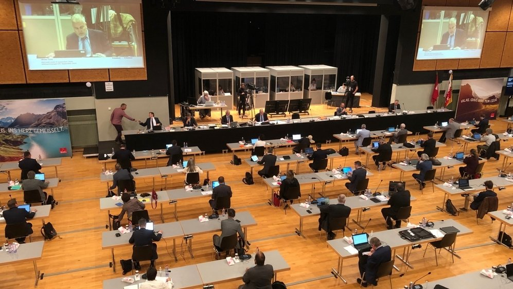 Après Brigue, le Grand Conseil va siéger à Martigny