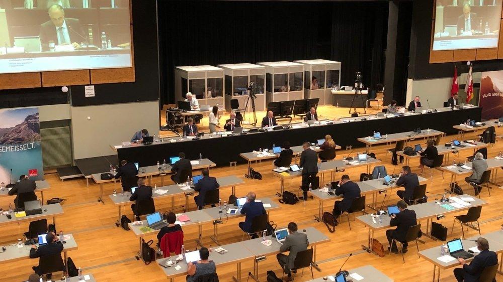 Le Haut-Valais aura perdu cinq sièges au Grand Conseil en deux législatures.