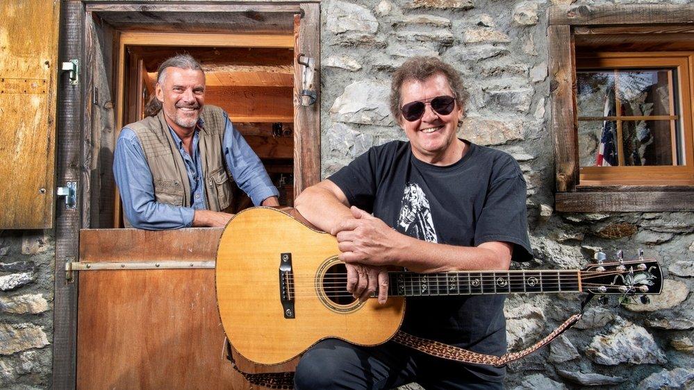 Oskar Freysinger et Paul Mac Bonvin, une fructueuse collaboration pour un album incontournable.