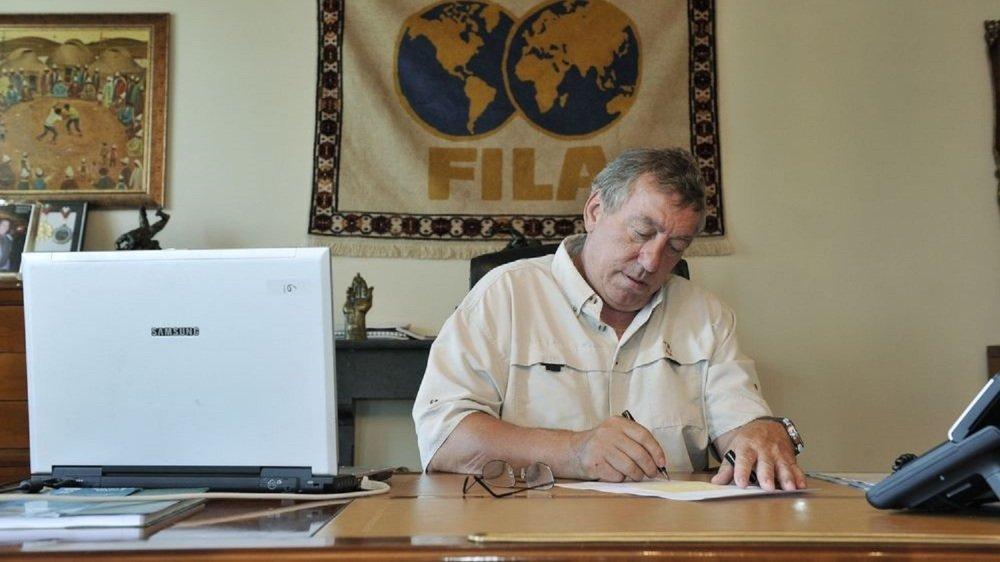 Raphy Martinetti, ici en 2013, après son départ de la Fédération internationale des luttes associées.