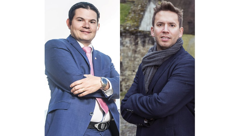 L'UDC Grégory Logean et le PLR Fabien Girard tentent un retour dans l'exécutif de leur commune respective. Bien qu'élus ils avaient raté leur réélection.