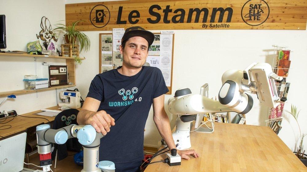 Avec Workshop 4.0, Nicolas Fontaine ambitionne de révolutionner la robotique.