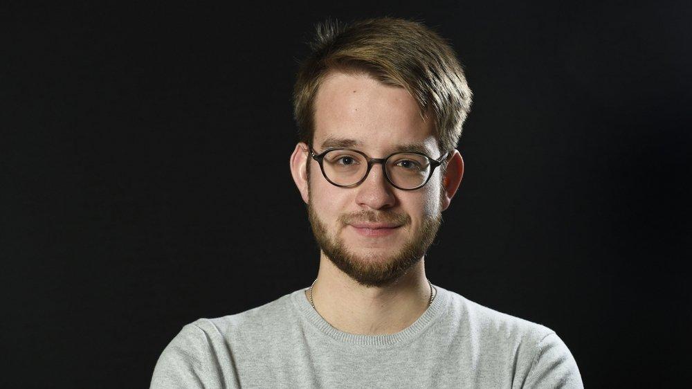 Pierre Loretan, étudiant.