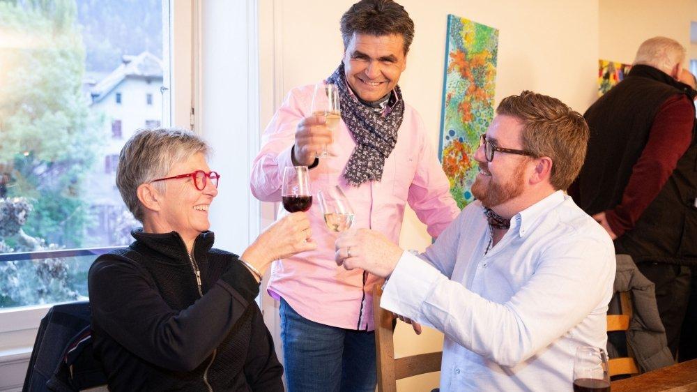 Anne-Michèle Lack, Christophe Maret et Eric Rosset triomphent. Le PLR fait un score historique.