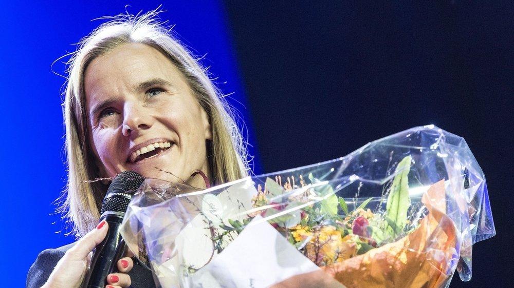 Amélie Wenger Reymond remporte lla couronne de reine des neiges 2020.