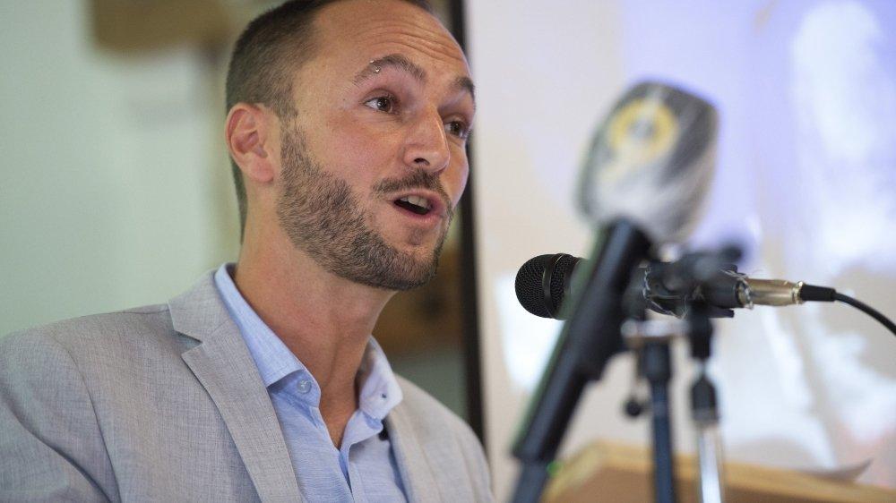 Mathias Reynard a été désigné officiellement comme candidat par son parti.