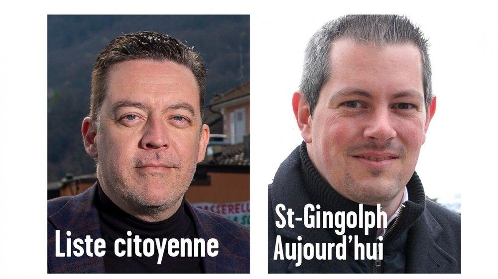 Pour la présidence de Saint-Gingolph, Werner Grange sera opposé à Damien Roch.