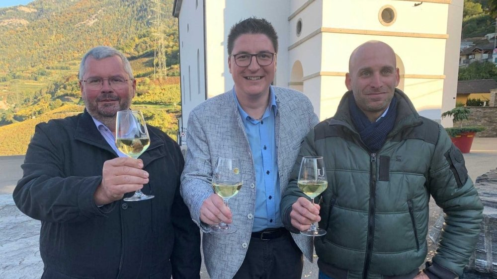Les trois élus du PLR qui ont réussi à battre en brèche l'hégémonie du MSI-CLI: Philippe Patthey, Nicolas Dupont et Samuel Veuthey.