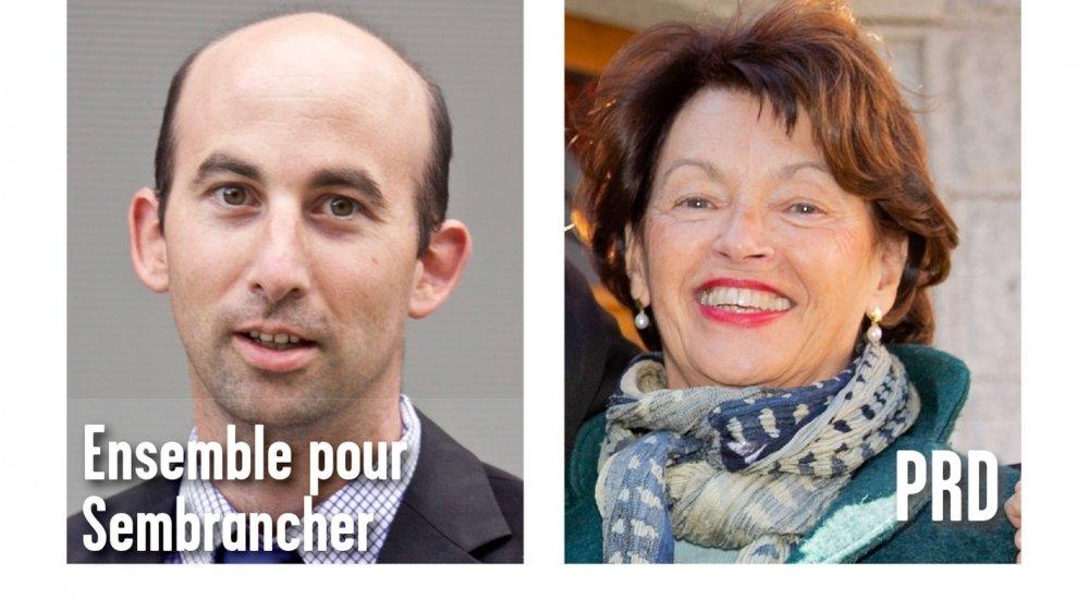 Ancien PDC, aujourd'hui indépendant, Eric Voutaz affrontera la PLR Marie-Madeleine Luy pour la présidence de Sembrancher.