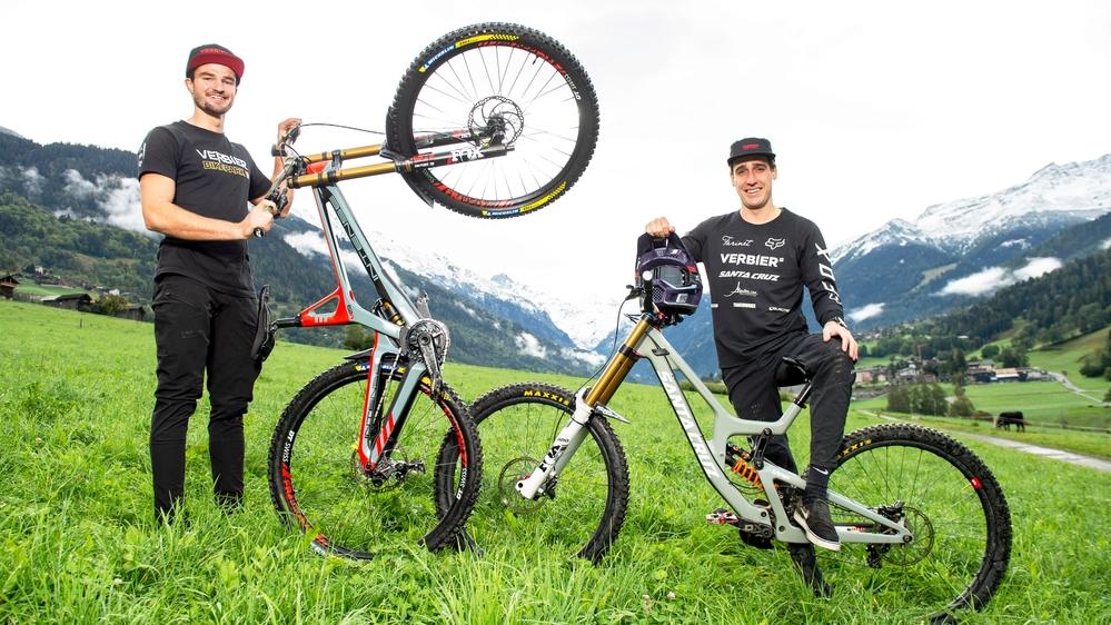 Loris Michellod et Jérôme Caroli se sont rassurés sur leur condition lors d'une course en France.