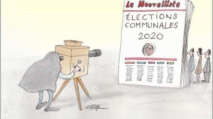 Communales 2020: un record d'audience en Valais
