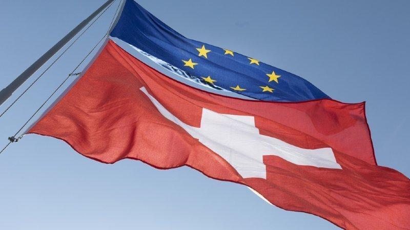 32% des Suisses souhaiteraient des précisions sur l'accord-cadre avec l'UE. (Illustration)