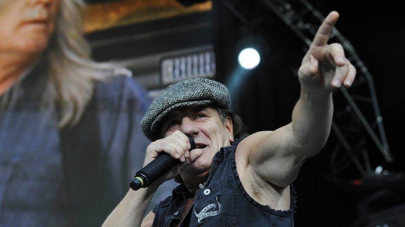 Le chanteur Brian Johnson sera présent dans le prochain album du groupe.