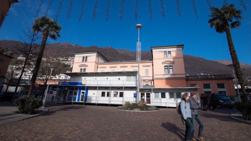 La ligne est coupée et les trains direct entre Locarno et Bellinzone sont supprimés. (illustration)