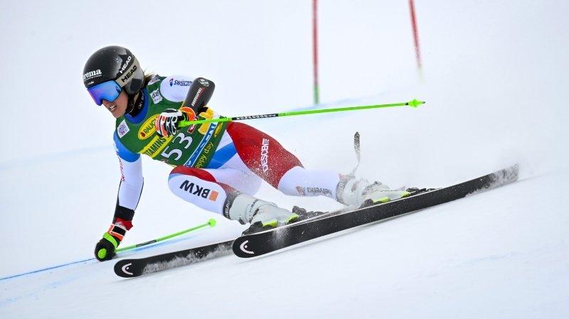 Camille Rast, après son retour en Coupe du monde de ski alpin: «Un peu déçue quand même… »