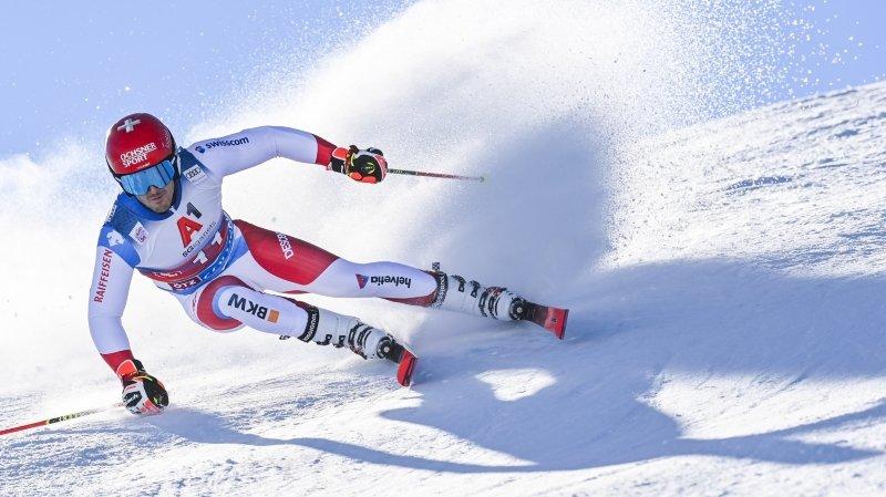 Pour le skieur d'Hérémence Loïc Meillard, le quatrième essai fut le bon