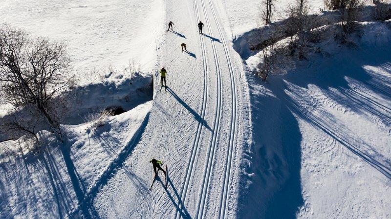 Les disciplines nordiques pourraient se dérouler entre Andermatt et Realp, dans le canton d'Uri, et Conches, dans le Haut-Valais (ci-dessus).