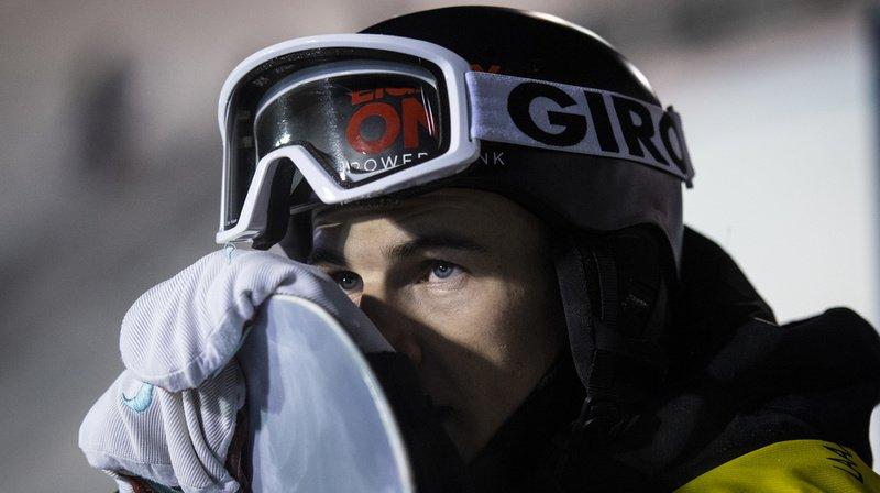 Snowboard: Jan Scherrer réalise une figure inédite à Saas Fee (VS)