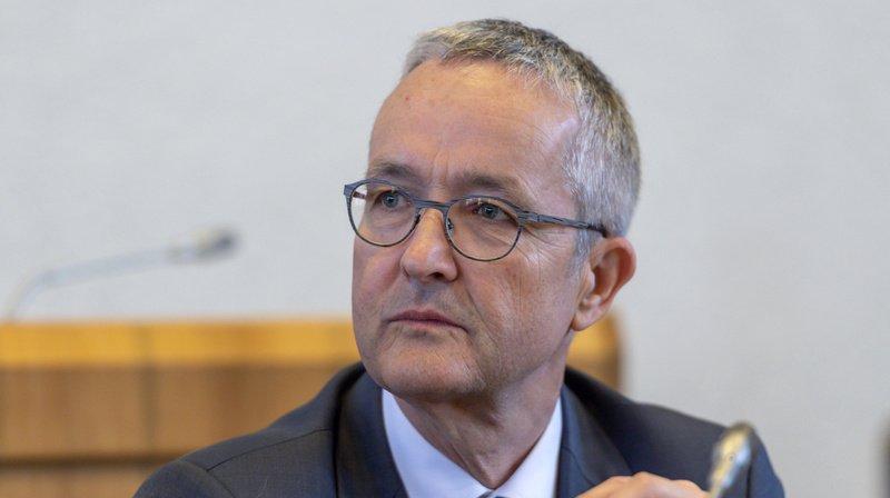 Thomas Weber (UDC) est chef du département de l'économie et de la santé. (Archives)
