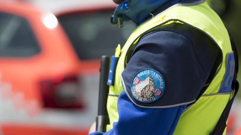 L'accident s'est produit à près de 500 mètres de Finhaut.