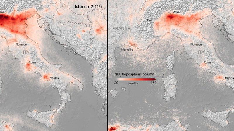 Climat: baisse sans précédent des émissions de CO2 grâce au Covid-19