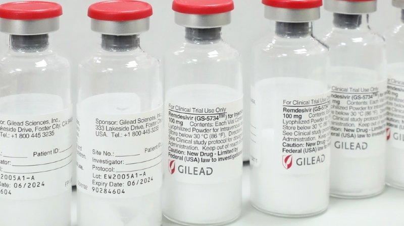 Coronavirus: peu ou pas d'effet du remdesivir sur les hospitalisations