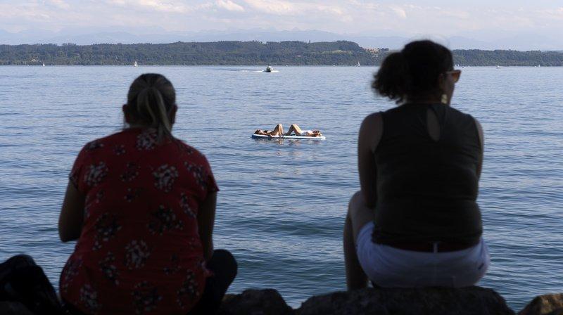 Neuchâtel et son Lac ont notamment attiré les visiteurs durant l'été. (Archives)