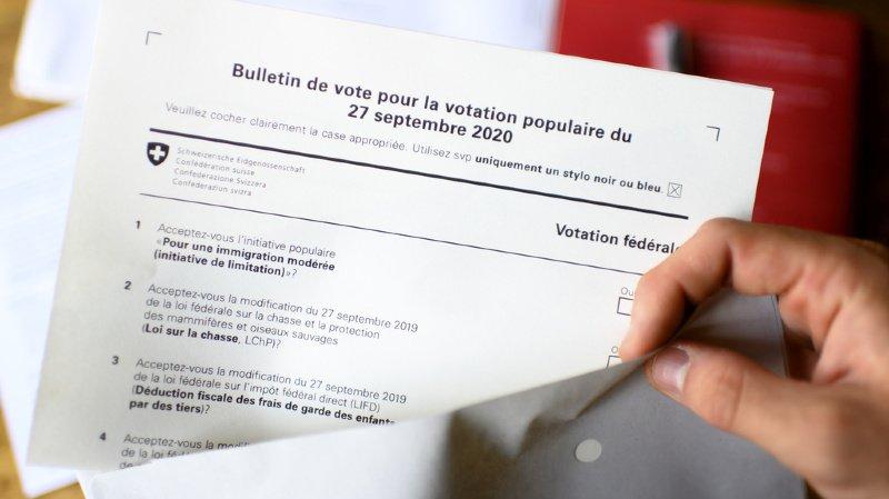 Votations fédérales: vers un oui au congé paternité, rejet de l'initiative de limitation