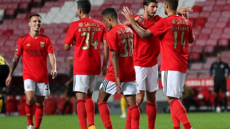 Football: Seferovic marque deux fois pour Benfica