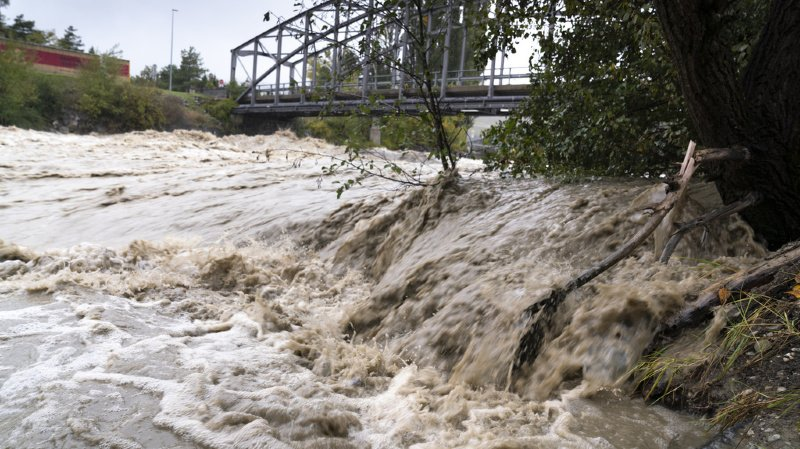 Intempéries en Valais: les précipitations ont cessé, mais la prudence reste de mise