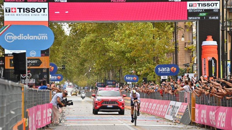 Cyclisme – Giro: l'Italien Filippo Ganna remporte la 1re étape