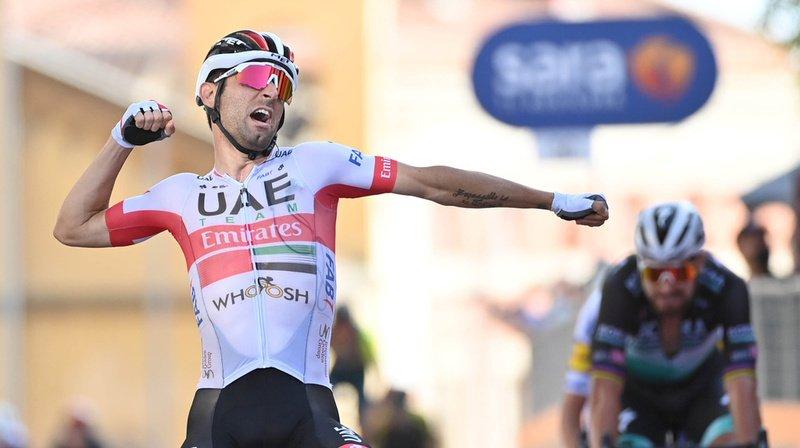 Cyclisme – Giro: Diego Ulissi enlève la 2e étape, Filippo Ganna reste en rose