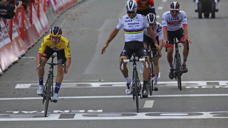 Cyclisme – Liège – Bastogne – Liège: Marc Hirschi échoue au sprint après une grande course