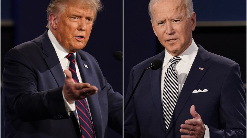 Présidentielle américaine: Trump et Biden s'affrontent sur le Covid-19