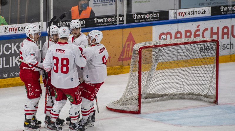 Un remarquable esprit collectif a permis aux Lausannois de résister à Zoug et fêter un succès sur une patinoire souvent hostile ces dernières saisons.
