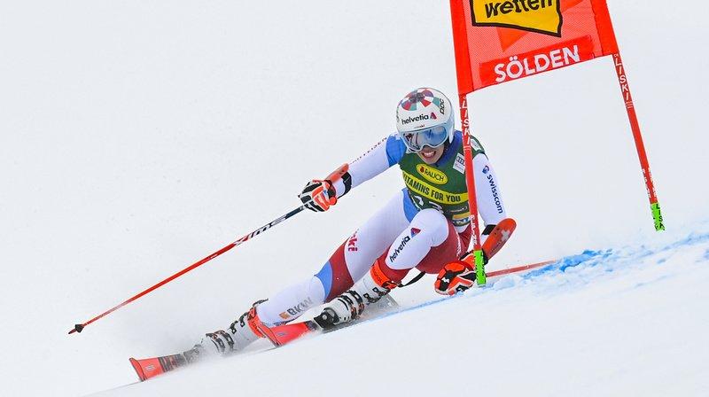 Ski alpin: Gisin 4e du géant de Sölden, Bassino victorieuse