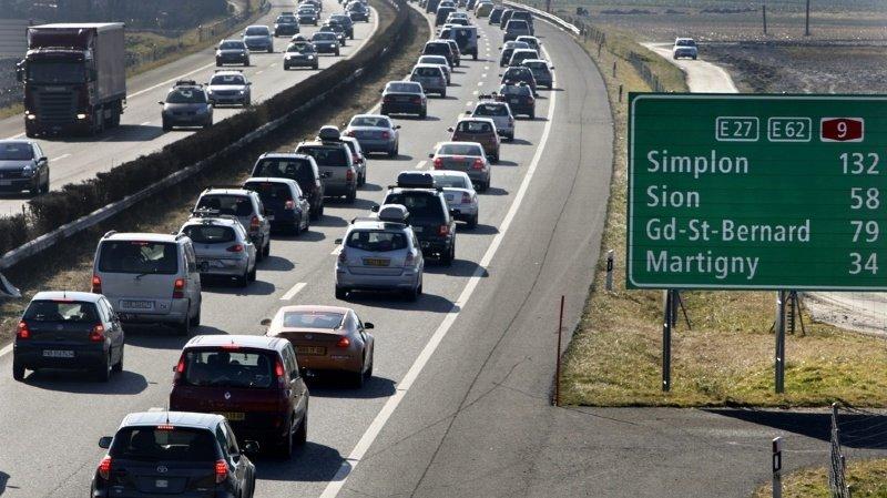 Une économie pour les conducteurs valaisans d'ici à 2022