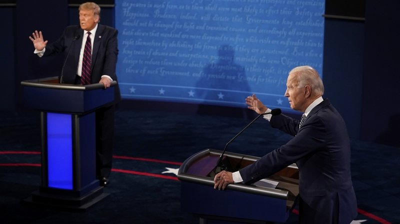 Dans le chaos, Joe Biden résiste à Donald Trump