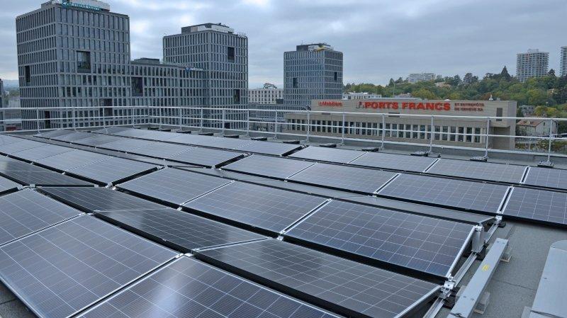 Energies renouvelables: Genève se dote d'une immense centrale photovoltaïque